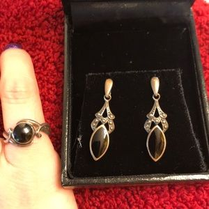 Jewelry - Authentic Whitby Jet, set in Sterling